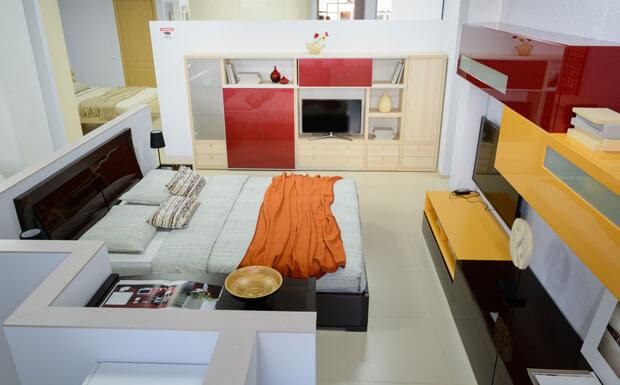 Корпусная мебель для гостиной комнаты