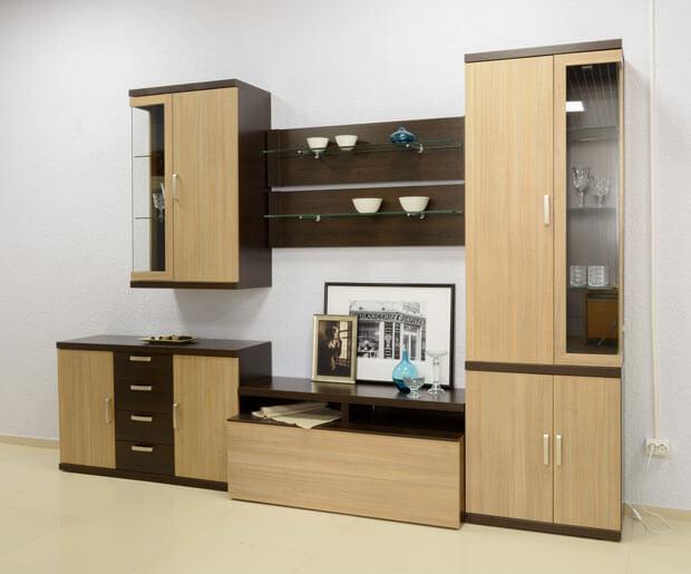 Комплект корпусной мебели в гостиную