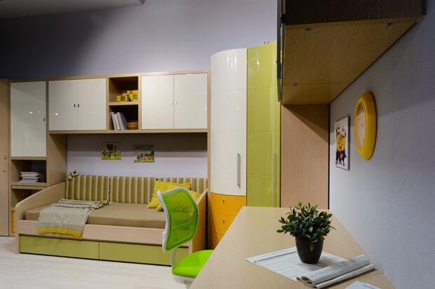 Корпусная мебель в детскую и подростковую комнату
