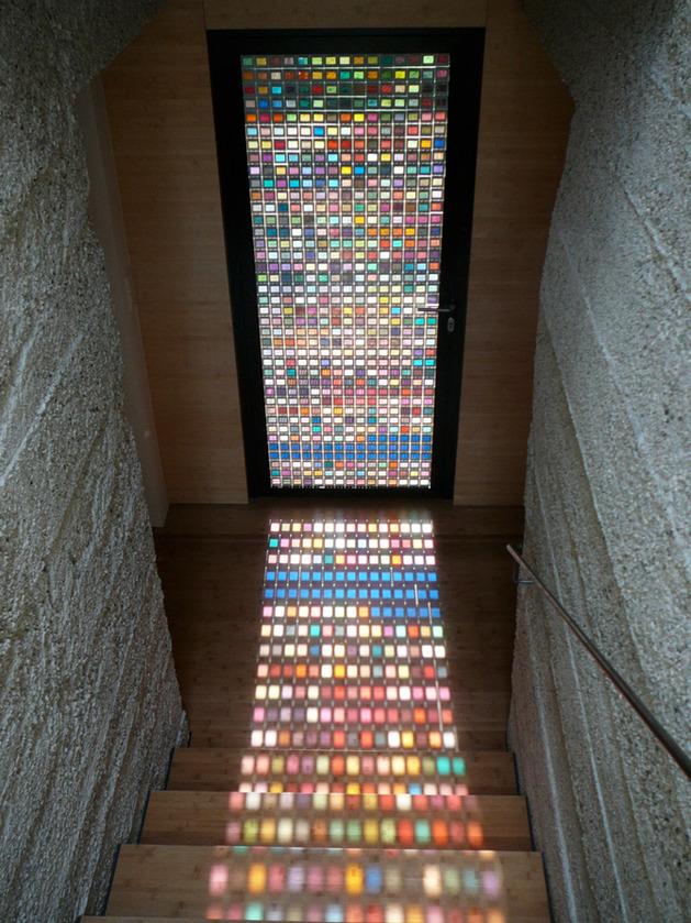 Декор стекол на двери своими руками